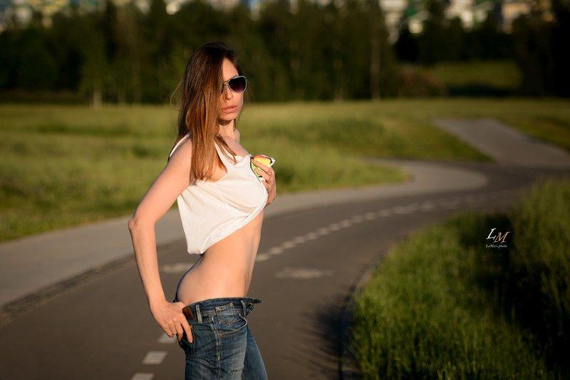 портрет, пленэр, парк, москва, фотосессия, ню фотограф, фотограф, фотосессии в москве, lemarphoto, девушка ***photo preview