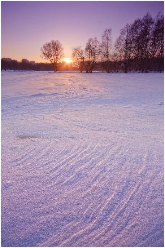 зима, комсомольское озеро Узоры февраляphoto preview