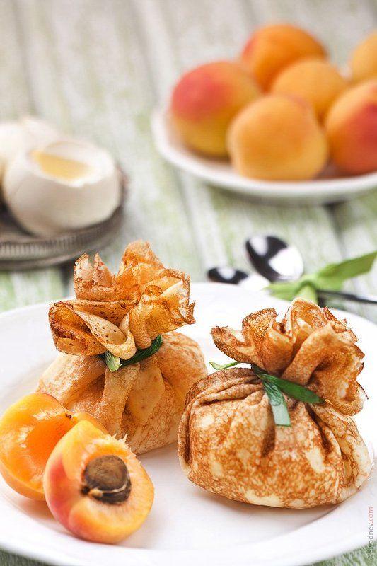 Блины с абрикосами и маскарпонеphoto preview