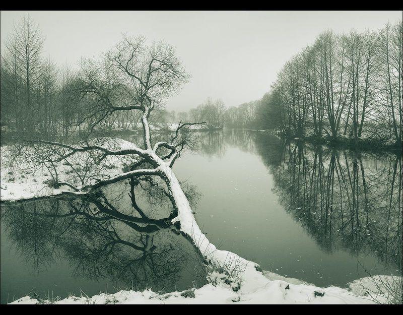 минск, веснянка, пейзаж ЗИМЫ, ОСЕННЯЯ ХАНДРАphoto preview