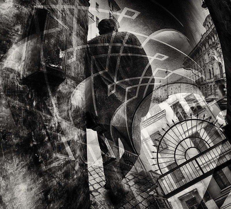санкт-петербург, памятник, довлатов, улица Размышлениеphoto preview