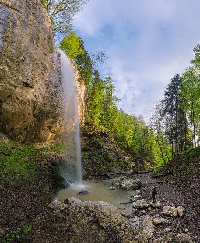 северный кавказ, ручей, капустина, водопад, утро, лето Утро на ручье Капустинаphoto preview
