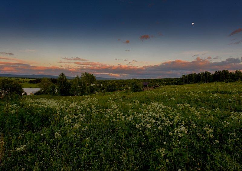 Тёплый вечер.photo preview