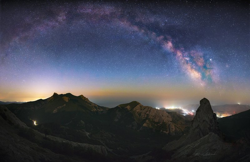 крым,  ночь, пейзаж, роман любимский Ночами в горах...photo preview