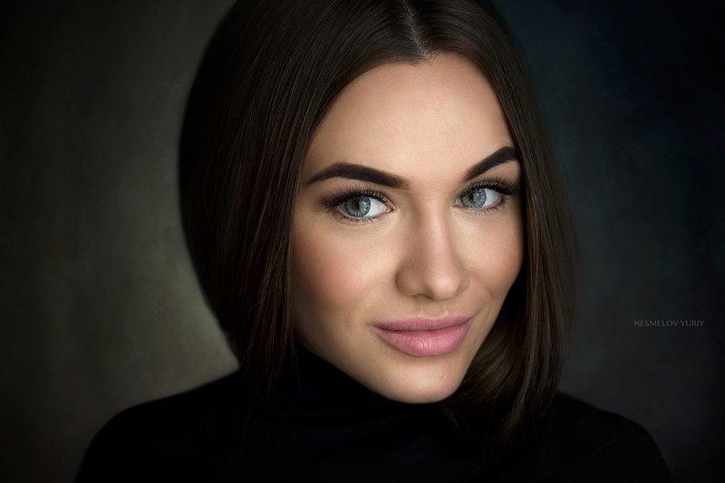 portrait портрет art girl модель девушка photo preview