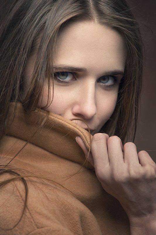 глаза, лицо, портрет Данаяphoto preview