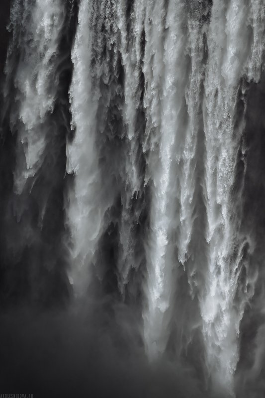 iceland, landscape, travel, nature, water, waterfall, пейзаж, путешествие, исландия, природа, водопад Waterfall. ICELANDphoto preview