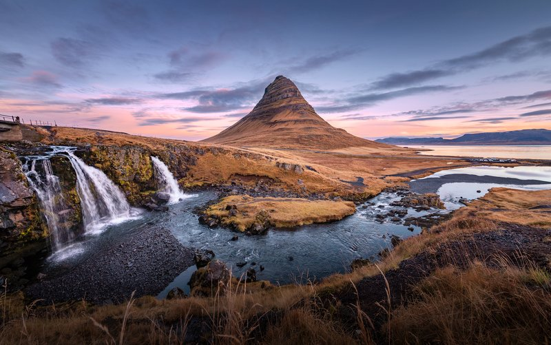 iceland Kirkjufell фото превью
