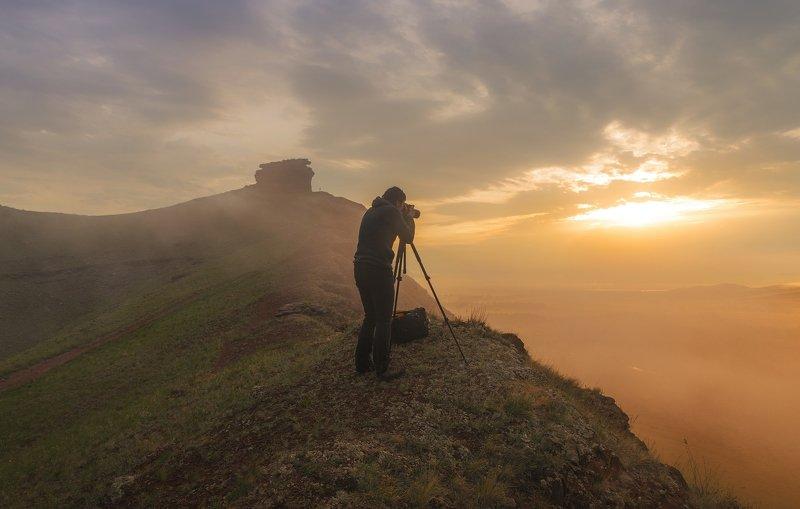 Золотой рассвет на Сундуках фото превью