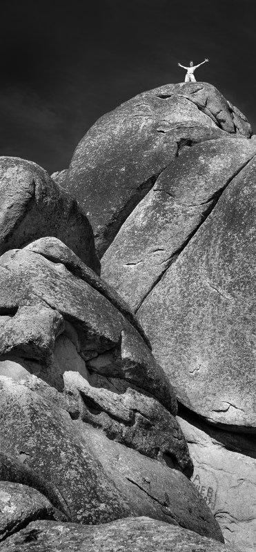 пейзаж, природа, заповедник, камни, скалы, горы, высота, вершина, высь, чб, черно-белое, трещины, альпинизм, скалолаз, красноярск, столбы Свобода!photo preview