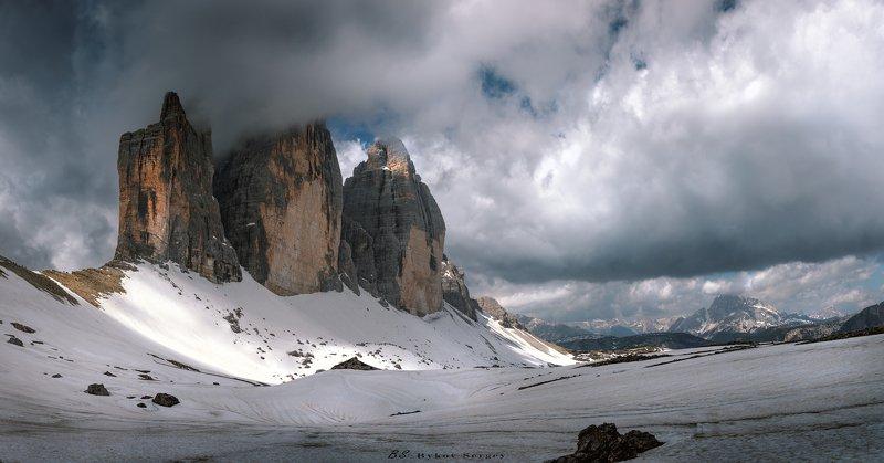 #dolomiti #trecime #alpi #panorama Tre Cimephoto preview