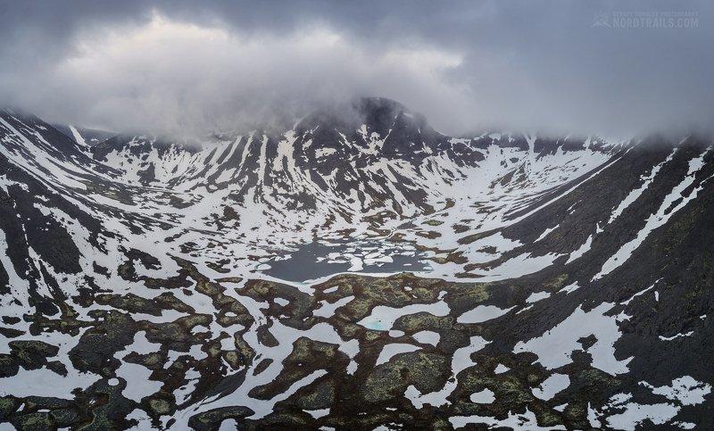 кольский, кольский полуостров, хибины, север Хибинский долматинецphoto preview