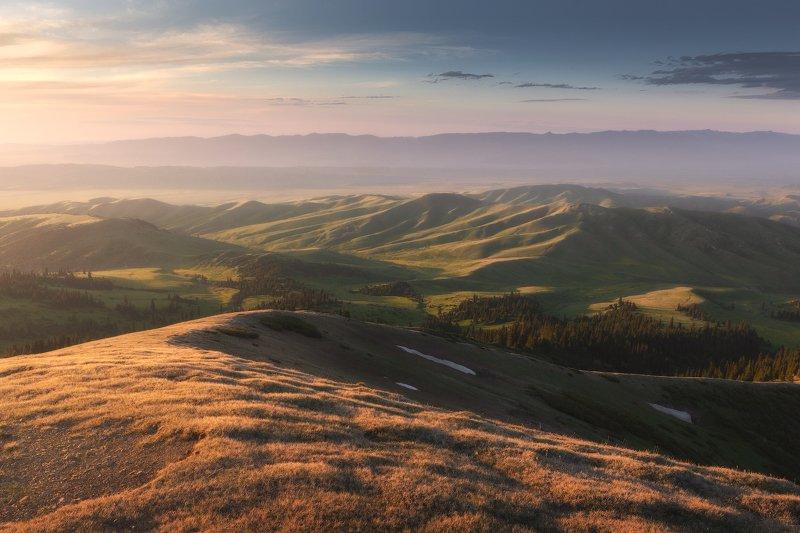 Панорамы с горы Аккогыт (3009м)photo preview