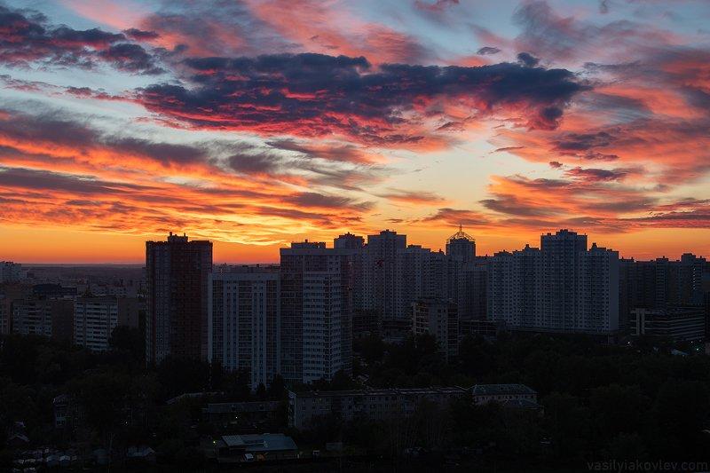 Сегодняшний рассвет в Екатеринбургеphoto preview