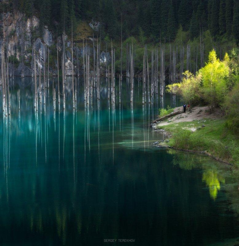 каинды, казахстан, Каинды озероphoto preview