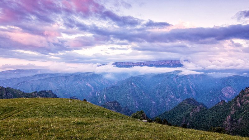 кавказ,горы,закат. Чертовы ворота.photo preview