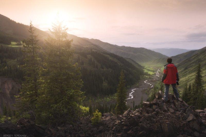 каинды, казахстан, кунгей алатау, пейзажи казахстана,фото казахстана, коянды, Долина реки Каиндыphoto preview