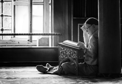old man who read book