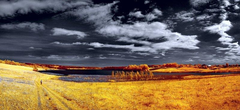 infrared,ик-фото,инфракрасное фото, инфракрасная фотография, пейзаж, весна Прогулки по весне.photo preview