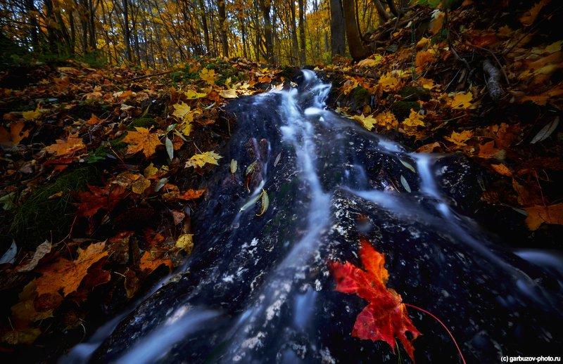 Водопад Громок. Тульская область, Заокский районphoto preview