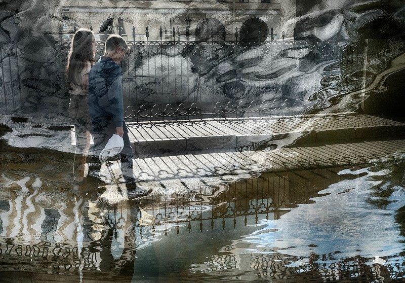 санкт-петербург, канал грибоедова, отражение Призраки канала Грибоедоваphoto preview