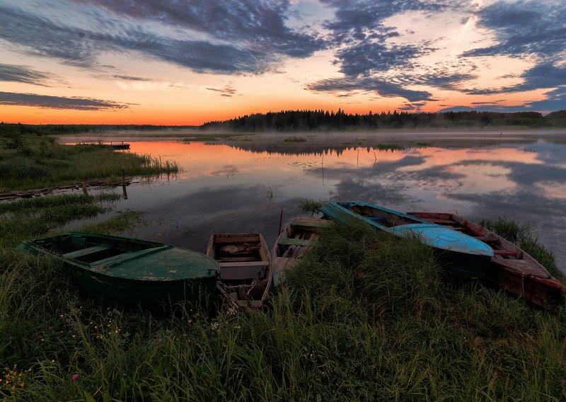 утро, лето,Россия, Вятка, природа, рассвет Идеальное летнее утроphoto preview