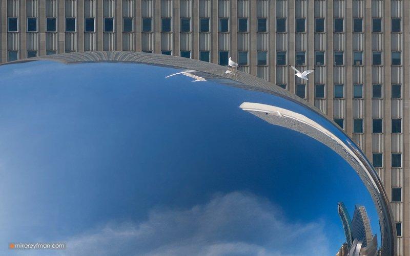 the cloud gate, chicago, anish kapoor Ворота облаковphoto preview