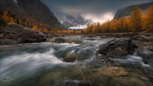 Осень в Актру