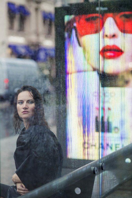 Портрет, женский портрет, уличный портрет, улица, город, ***photo preview