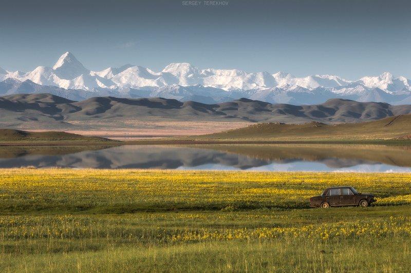 хан-тенгри, тузколь, казахстан, тянь-шань, Хан Тенгри и Тузкольphoto preview