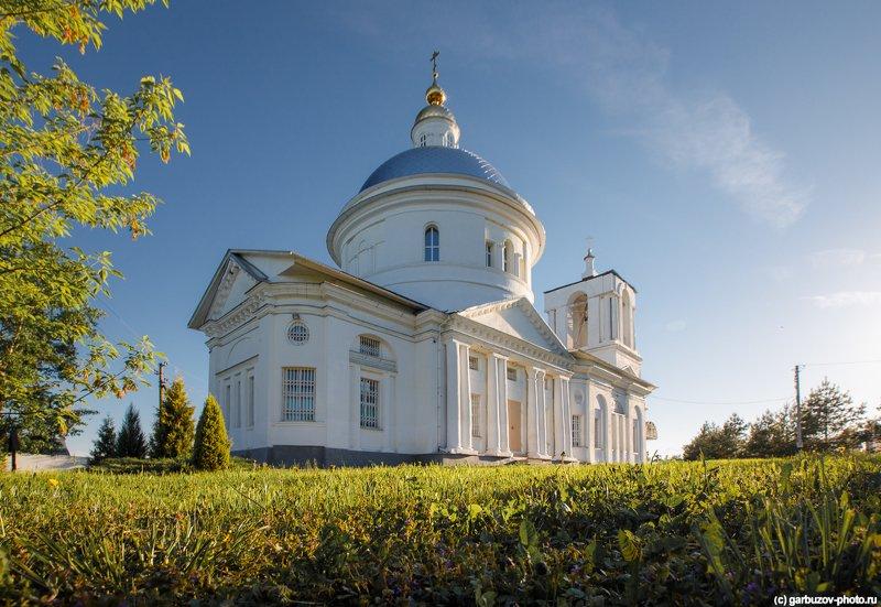 Заокский район,Село Дмитриевское, церковь Дмитрия Солунскогоphoto preview