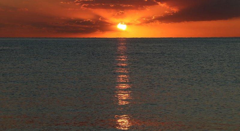 пейзаж, море, природа, фотография, шаварёв, Солнечная тропа.photo preview