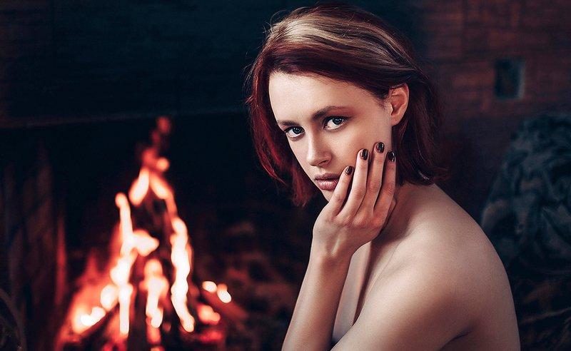 портрет, модель, арт, art, ню, nude Настяphoto preview