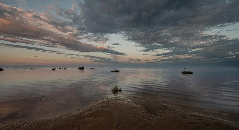 Белая ночь над оз. Ильмень . фото превью