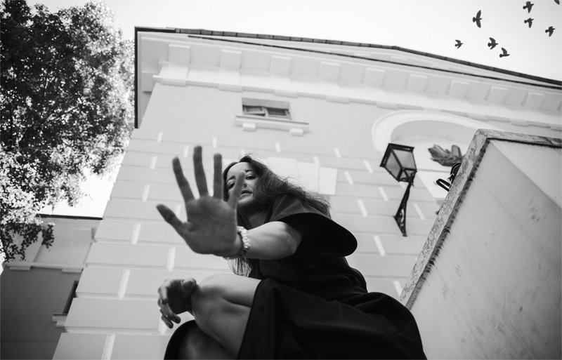 портрет, стрит, улица, девушка, стритфото Катяphoto preview