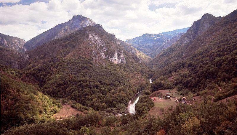 черногория, горы, каньон Каньон реки тараphoto preview