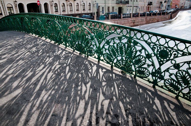 певческий, мост, река, мойка Весеннее кружевоphoto preview