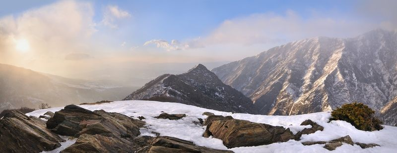 Mountain sunrisephoto preview