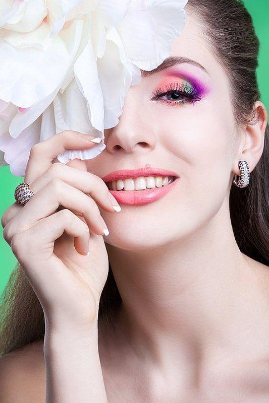 портрет, украшения, весна, цветок, наташа Весна!photo preview