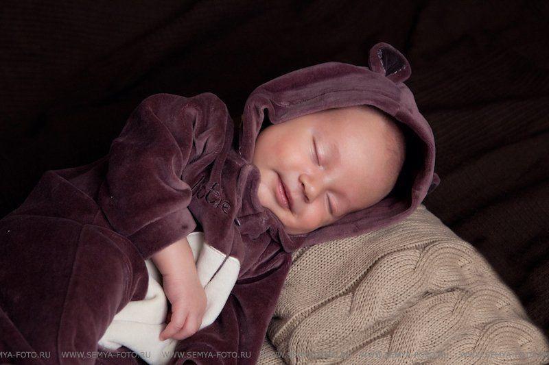 фотосессия малышей, фотосъемка детей, детский и семейный фотограф, детский фотограф москва, мария мазино Сладкий сонphoto preview