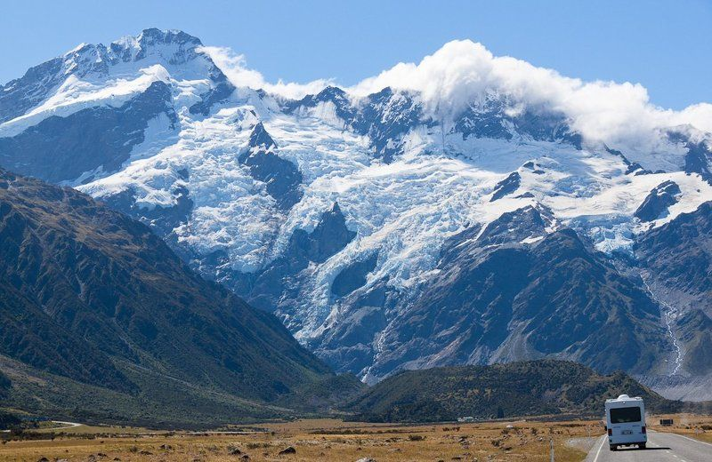 new, zealand National park Mt. Cookphoto preview