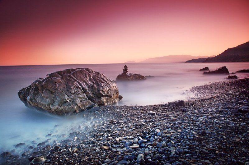 вечер, камни, крым, канака вечернее настроение ...photo preview