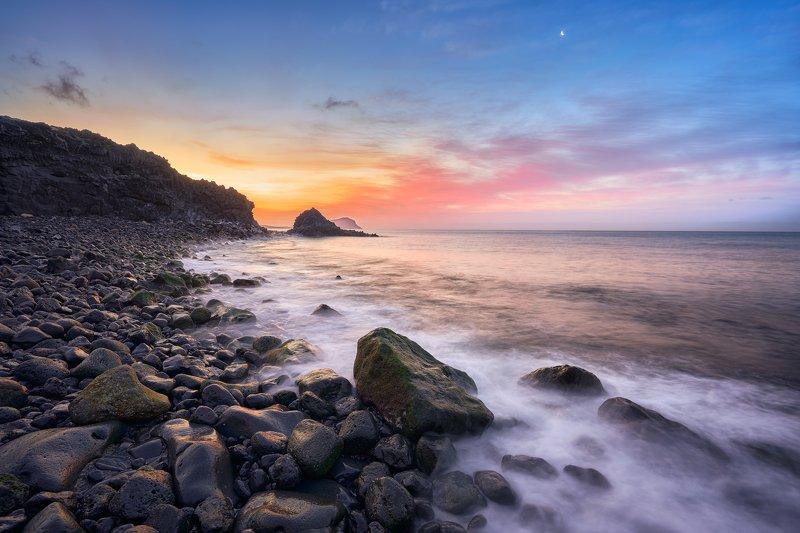 tenerife, canary island, sunrise Two minutes to sunrisephoto preview