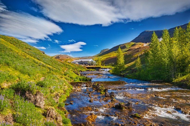 пейзаж, лето, природа, исландия, ладшафт Природа Исландииphoto preview