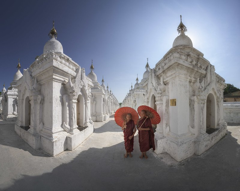 archaeological, architecture, asia, asian, attraction, blue, book, buddha, buddhism, buddhist, building, burma, burmese, complex, culture, dome, exterior, famous, heritage, historic, history, kuthodaw, landmark, largest, majestic, mandalay, monks, monumen In the Libraryphoto preview
