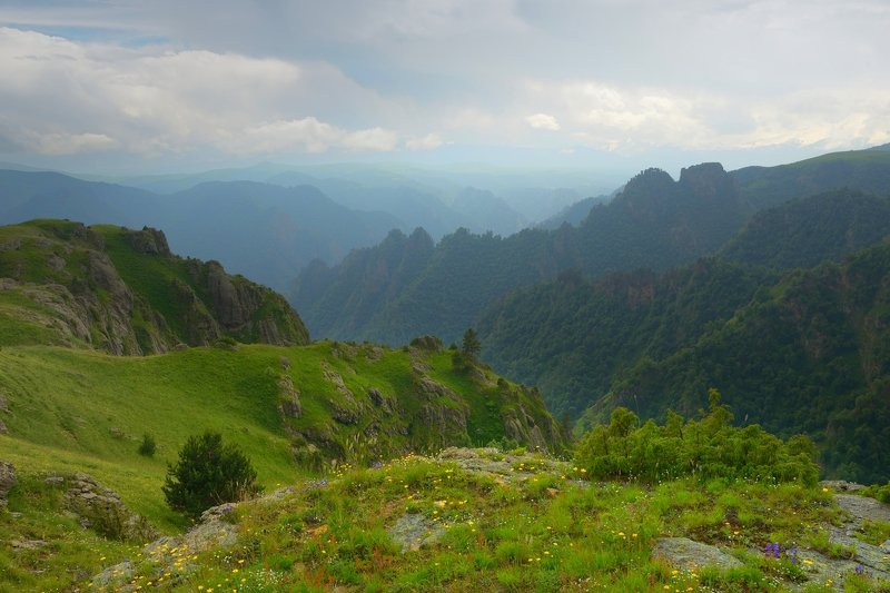 горы лето кавказ кбр Каньон Малкиphoto preview