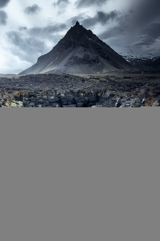 iceland, waves, ocean, rock, coastline, landscape, sunset, mountains, Journey to the Center of the Earthphoto preview