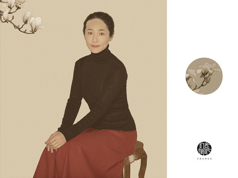 Chinese Style Portrait photo preview