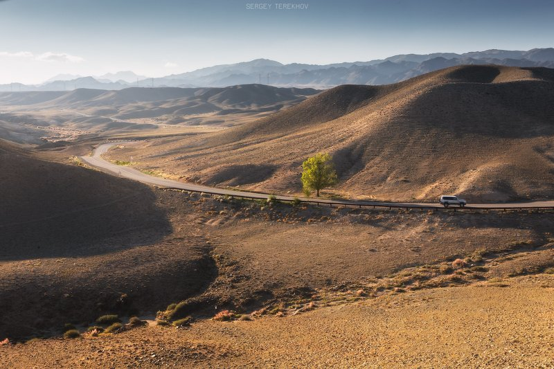казахстан, тянь-шань,фото казахстана, пейзажи казахстана, осень, дорога, трасса, чарын, жаланаш, Пейзажи трассы Р-16photo preview