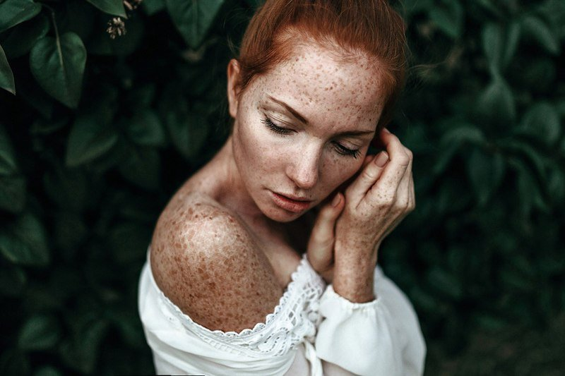 портрет, модель, арт, art, веснушки Оксана Бутовскаяphoto preview